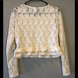 Divided Tops - H&M Divided Lace Blouse